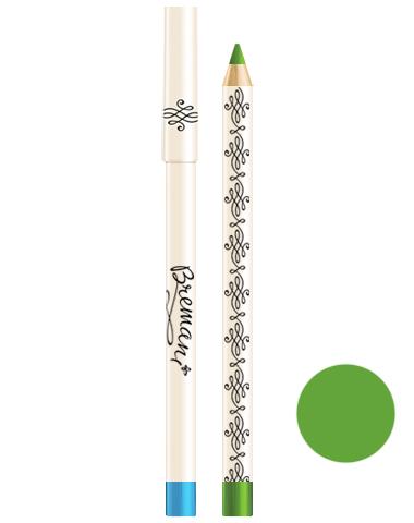 Жемчужные карандаши для глаз. Зеленый блеск