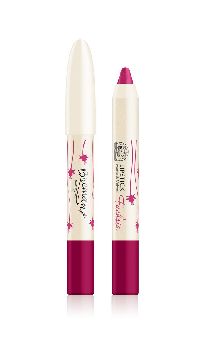 Акция 30 процентов. Губная помада матовая и бархатная Lipstick matte&velvet Fuchsia