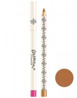 Бархатный карандаш для губ. Светло-коричневый