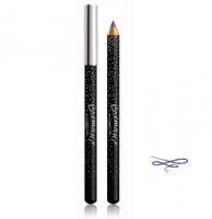 Контурный карандаш для век, Конфетти, Новогодняя ночь, Королевский синий, Молочный Кайал, Бремани, Bremani, NSP, косметика