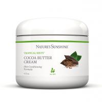 Cocoa Butter Cream NSP, Крем косметический,Tropical Mists,Уход за кожей, Увлажняющий крем,крем с маслом какао,крем какао